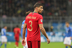 November 17, 2018 - Milan, Lombardia, Italy - Ruben Dias (Portugal) during the Nations League football match between Italy and Portugal at Stadio Giuseppe Meazza on November 17, 2018 in Milan Italy..Final results: 0-0. (Credit Image: © Massimiliano Ferraro/NurPhoto via ZUMA Press)