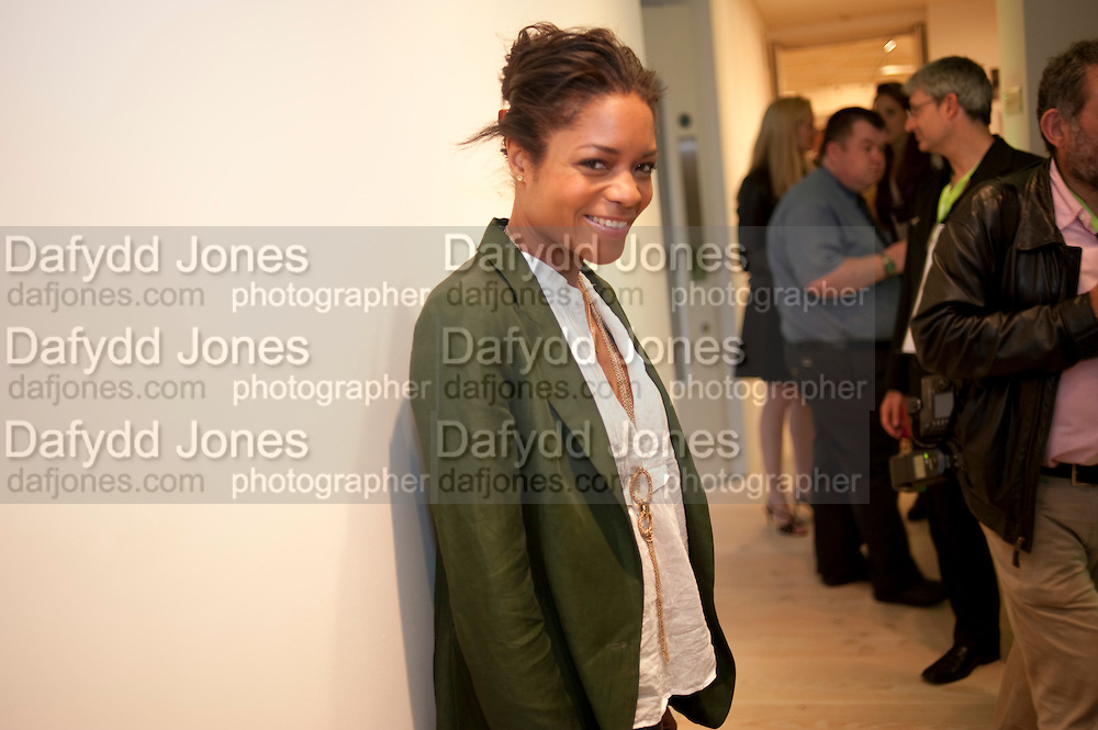NAOMIE HARRIS, Hear the World Ambassadors Ð An Exhibition of Photography by Bryan Adams , The Saatchi Gallery. Sloane sq. London. 21 July 2009. Hear the World - an initiative by Phonak, aims to raise international awareness about hearing and hearing loss<br /> NAOMIE HARRIS, Hear the World Ambassadors ? An Exhibition of Photography by Bryan Adams , The Saatchi Gallery. Sloane sq. London. 21 July 2009. Hear the World - an initiative by Phonak, aims to raise international awareness about hearing and hearing loss