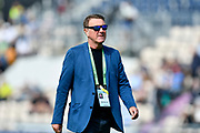 BBC Test Match Special commentator Phil Tufnell during the first day of the 4th SpecSavers International Test Match 2018 match between England and India at the Ageas Bowl, Southampton, United Kingdom on 30 August 2018.