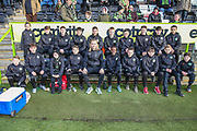 FGR Academy during the EFL Sky Bet League 2 match between Forest Green Rovers and Walsall at the New Lawn, Forest Green, United Kingdom on 8 February 2020.