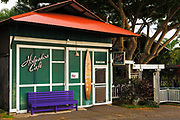 The Holuakoa Cafe, Holualoa, Kona District, The Big Island, Hawaii USA