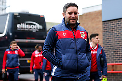 Bristol City head coach Lee Johnson arrives at the City Ground for the Sky Bet Championship fixture against Nottingham Forest - Mandatory by-line: Robbie Stephenson/JMP - 19/01/2019 - FOOTBALL - The City Ground - Nottingham, England - Nottingham Forest v Bristol City - Sky Bet Championship