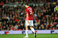 Football - 2016 / 2017 UEFA Europa League Manchester United v FC Zorya Luhansk at Old Trafford <br /> <br /> Zlatan Ibrahimovic of Manchester United <br /> <br /> COLORSPORT/LYNNE CAMERON