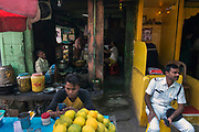 Street scene of Calcutta (Kolkata)