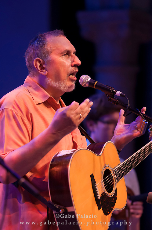 David Bromberg quartet performing at the American Roots Music Festival at Caramoor in Katonah New York..photo by Gabe Palacio