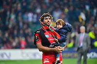 Joie Toulon - Juan Martin FERNANDEZ LOBBE - 02.05.2015 - Clermont / Toulon - Finale European Champions Cup -Twickenham<br />Photo : Dave Winter / Icon Sport