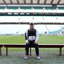 LONDON, ENGLAND - NOVEMBER 14: Charles Wessels Operational Head during the South African National rugby team photograph and captains run at Twickenham on November 14, 2014 in London, England. (Photo by Steve Haag/Gallo Images)