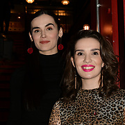 Actress Kerry Browne and Elanor Miller arrivers at Eleven Film Premiere at Picture House Central, Piccadilly Circus on 10 November 2018, London, Uk.