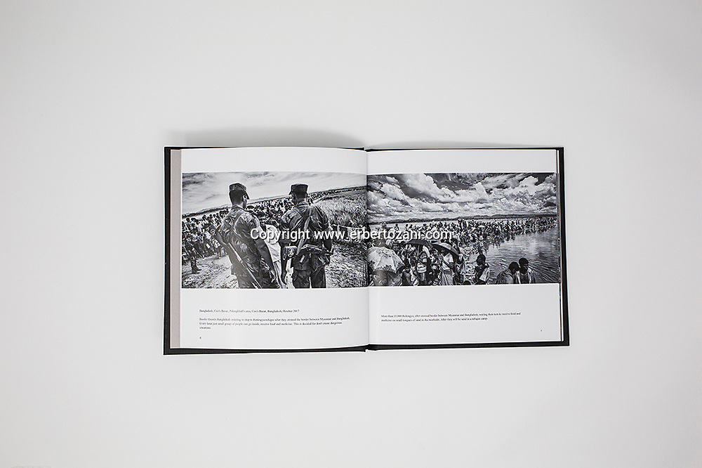 &quot;Exodus / Rohingya in Bangladesh&quot;<br /> <br /> 18x18 cm (7x7 inch), hardcover with a glossy jacket over, Premium Matte Photo Paper, 60 pages, 44 photographs, English text, Blurb editions (2018), &euro;38,29.<br /> <br /> For buy a copy of &quot;EXODUS&quot;:<br /> http://it.blurb.com/b/8498144-exodus