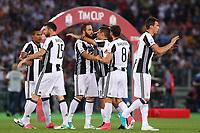 Esultanza Juventus celebration  <br /> Roma 17-05-2017 Stadio Olimpico.<br /> Football Calcio Finale Coppa Italia / Italy's Cup Final 2016/2017. Juventus - Lazio<br /> Foto Cesare Purini / Insidefoto