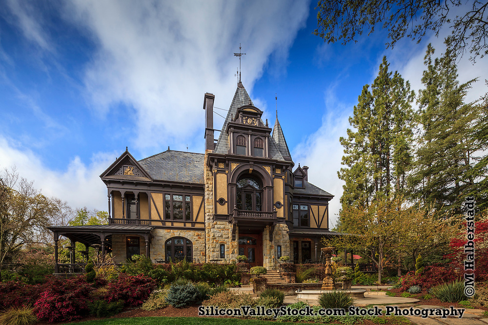 Rhine House, Beringer Vineyards, St Helena, Napa Valley, CA