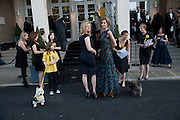 SUZANNAH CONSTANTINE; TRINNI WOODALL, Dogs Trust Honours 2009, A celebration of man's best friend. The Hurlingham Club, Ranelagh Gardens, London, SW6. 19 May 2009.