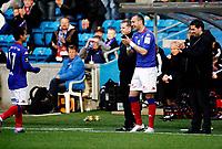 Fotball<br /> Tippeligaen<br /> Ullevål  Stadion 25.04.10<br /> Mohammed Fellah fikk stående applaus da han ble tatt av banen , Bojan Zajic og Trener Martin Andresen stemmer i<br /> Foto: Eirik Førde