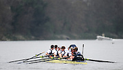Putney. London.   OUBC. Bow Moritz HAFNER, clamber's down the boat to congratulate and hug Simon HISLOP after Oxford UBC win the  2011 University Boat Race over the Championship Course - Putney to Mortlake.  Saturday 26/03/2011  [Mandatory Credit; Peter Spurrier/Intersport-images]