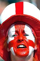 Photo: AF Wrofoto/Sportsbeat Images.<br />England v Ecuador. 2nd Round, FIFA World Cup 2006. 25/06/2006.<br />England fans.