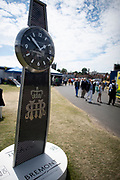 Henley on Thames, England, United Kingdom, 5th July 2019, Henley Royal Regatta  Crew Cafe, Advert for Bredmont watches,    [© Peter SPURRIER/Intersport Image]<br /> <br /> 13:51:38 1919 - 2019, Royal Henley Peace Regatta Centenary,