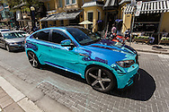 http://Duncan.co/bmw-suv-with-reflective-paint