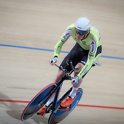 16-12-2016: Wielrennen: NK baanwielrennen: Apeldoorn<br /> <br /> Dion Beukeboom pakt de Nederlandse titel op de individuele achtervolging in Apeldoorn