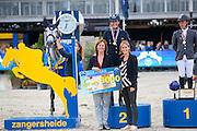 Lorenzo de Luca - Jeleena de Muze<br /> FEI World Breeding Jumping Championships for Young Horses 2016<br /> © DigiShots