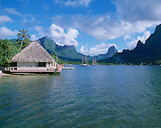 Club Bali Hai, Cook's Bay, Moorea, French Polynesia<br />
