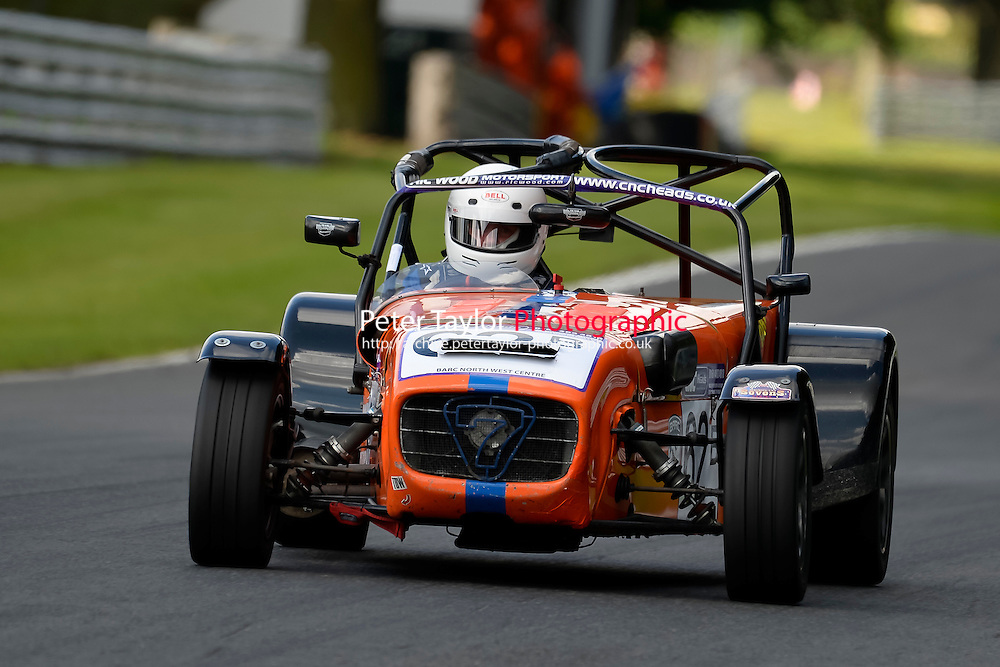#62 Andrew Myerscough Caterham R400 2000 during the CNC Heads Sports & Saloon Car Championship at Oulton Park, Little Budworth, Cheshire, United Kingdom. August 06 2016. World Copyright Peter Taylor/PSP.