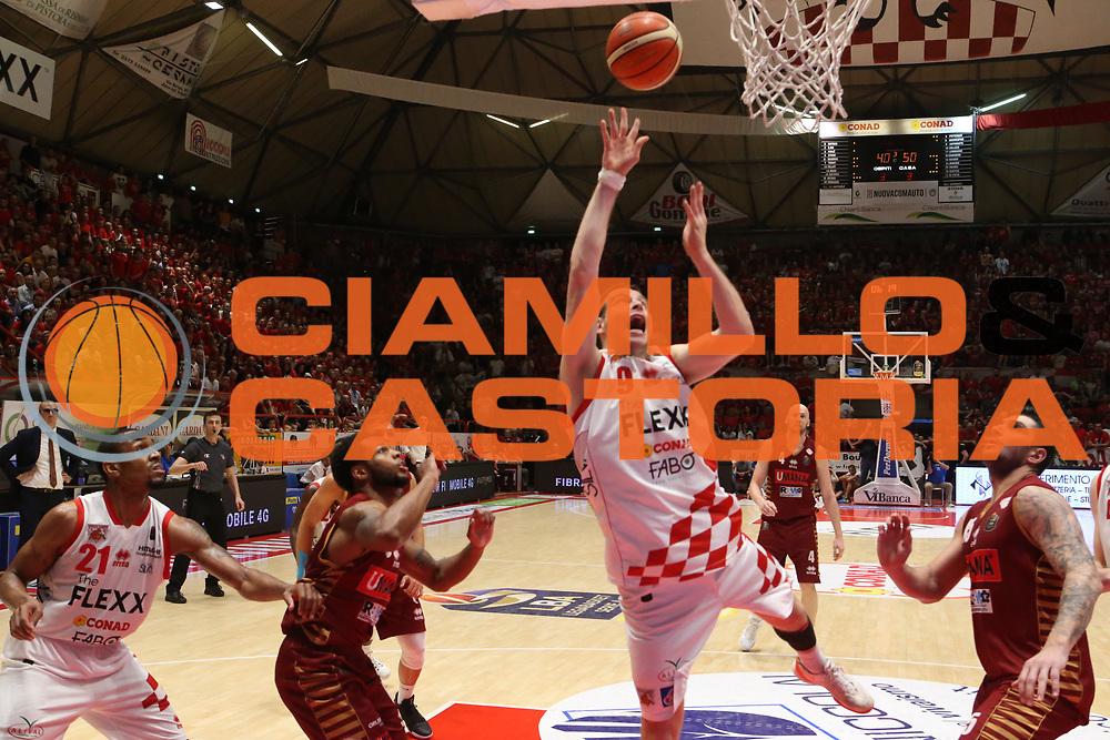 Antonitti Michele<br /> UThe Flexx Pistoia vs Umana Reyer Venezia<br /> Lega A  2016/2017 Quarti di finale Gara 3<br /> Milano 17/05/2017<br /> Foto Ciamillo-Castoria<br /> Provvisorio