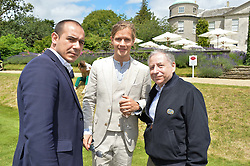 Centre & right, LORD SETTRINGTON and JOHN TODT at the Cartier hosted Style et Lux at The Goodwood Festival of Speed at Goodwood House, West Sussex on 26th June 2016.