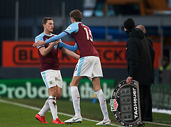 New Burnley signing Peter Crouch (R) comes on as a substitute - Mandatory by-line: Jack Phillips/JMP - 02/02/2019 - FOOTBALL - Turf Moor - Burnley, England - Burnley v Southampton - English Premier League