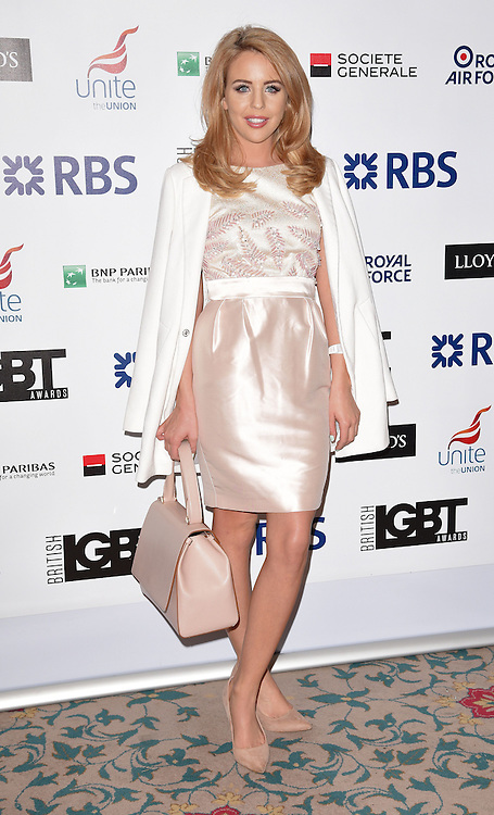 Lydia Rose Bright attends The British LGBT Awards at The Landmark Hotel, London on Friday 24 April 2015