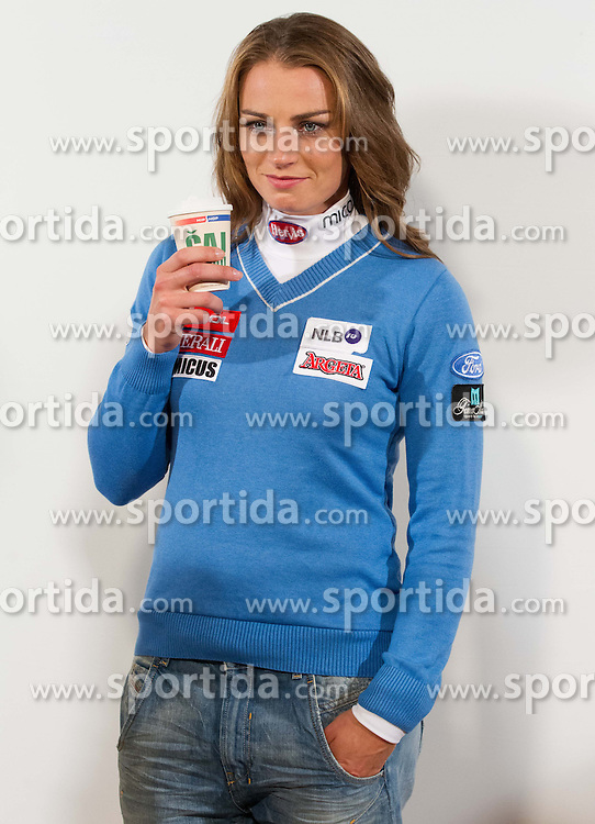 Tina Maze during media day of Ski Association of Slovenia before new winter season 2012/13, on October 13, 2012, in Cerklje na Gorenjskem, Slovenia. (Photo by Vid Ponikvar / Sportida)