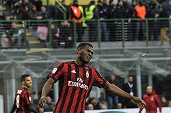 November 26, 2017 - Milan, Italy - Cristian Zapata of AC Milan during Italian serie A match AC Milan vs Torino FC at San Siro Stadium  (Credit Image: © Gaetano Piazzolla/Pacific Press via ZUMA Wire)