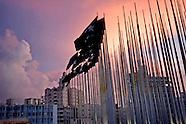 Monte de las Banderas, Tribuna Anti Imperialista Jose Marti, Havana Vedado, Cuba.