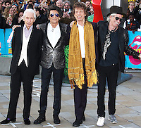 The Rolling Stones, The Rolling Stones Exhibitionism - Opening Night Gala, Saatchi Gallery, London UK, 04 April 2016, Photo by Brett D. Cove