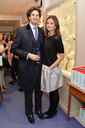 RUPERT FINCH and LADY NATASHA RUFUS ISAACS at a preview of the latest collections by jewellery designer Kiki Mcdonough and fashion label Beulah held at Kiki McDonough Jewellery, 12 Symons Street, London on 5th March 2014.