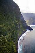 Wailau Valley, North Shore, Molokai, Hawaii