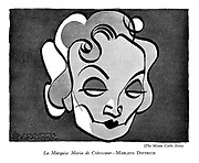 The Monte Carlo Story: La Marquise Maria de Crevecoeur—Marlene Dietrich