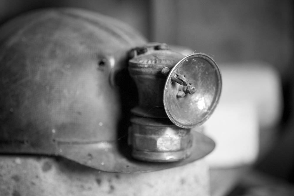 Coal miner's helmet