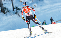 29.01.2017, Casino Arena, Seefeld, AUT, FIS Weltcup Nordische Kombination, Seefeld Triple, Langlauf, im Bild Lukas Klapfer (AUT) // Lukas Klapfer of Austria during Cross Country Gundersen Race of the FIS Nordic Combined World Cup Seefeld Triple at the Casino Arena in Seefeld, Austria on 2017/01/29. EXPA Pictures © 2017, PhotoCredit: EXPA/ JFK