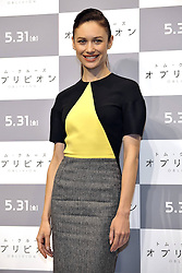 59613074 .Olga Kurylenko at the Press conference to Oblivion in Hotel Ritz Carlton Tokyo, Japan, May 7, 2013. Photo by:  imago / i-Images.UK ONLY