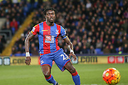 Crystal Palace defender Pape Souare  during the Barclays Premier League match between Crystal Palace and Sunderland at Selhurst Park, London, England on 23 November 2015. Photo by Simon Davies.