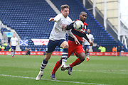 Preston North End Defender Calum Woods during the Sky Bet Championship match between Preston North End and Queens Park Rangers at Deepdale, Preston, England on 19 March 2016. Photo by Pete Burns.