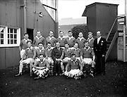Rugby - Interprovincial - Munster vs Leinster (Munster team).23/11/1952