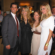 Donald Trump Jr., Vanessa Haydon & Ivanka Trump.InStyle and Warner Bros. Post 2007 Golden Globe Party - Inside.Beverly Hilton Hotel.Beverly Hills, CA, USA.Monday January 15, 2007.Photo By Celebrityvibe.com.To license this image please call (212) 410 5354; or.Email: celebrityvibe@gmail.com ;.Website: www.celebrityvibe.com
