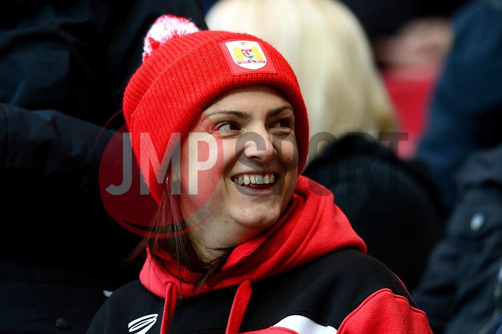Bristol City fan - Mandatory by-line: Dougie Allward/JMP - 26/12/2017 - FOOTBALL - Ashton Gate Stadium - Bristol, England - Bristol City v Reading - Sky Bet Championship