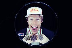 02.03.2019, Seefeld, AUT, FIS Weltmeisterschaften Ski Nordisch, Seefeld 2019, Österreichische Medaillengewinner im Bild Franz Josef Rehrl (AUT) posiert mit seinen Medaillen // Franz Josef Rehrl of Austria during a Photoshooting of Austrian Medal Winner of FIS Nordic Ski World Championships 2019. Seefeld, Austria on 2019/03/02. EXPA Pictures © 2019, PhotoCredit: EXPA/ JFK