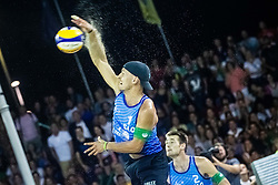 Tadej Bozenk of Slovenia at Beach Volleyball Challenge Ljubljana 2019, on August 4, 2019 in Kongresni trg, Ljubljana, Slovenia. Photo by Grega Valancic / Sportida