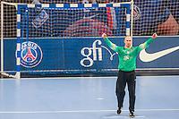 Thierry Omeyer - 22.04.2015 - PSG / Creteil - 21eme journee de D1<br /> Photo : Andre Ferreira / Icon Sport