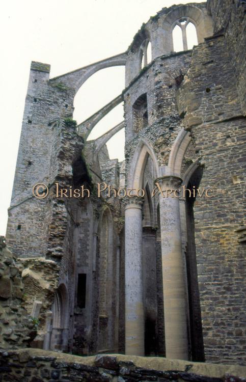 France, Normandy.  Abbaye de Hambye built 1145, now a ruin.