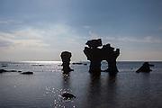 Hoodoos at Fårø, outside Gotland, Sweeden | Rauker på Fårø utenfor Gotland, Sverige