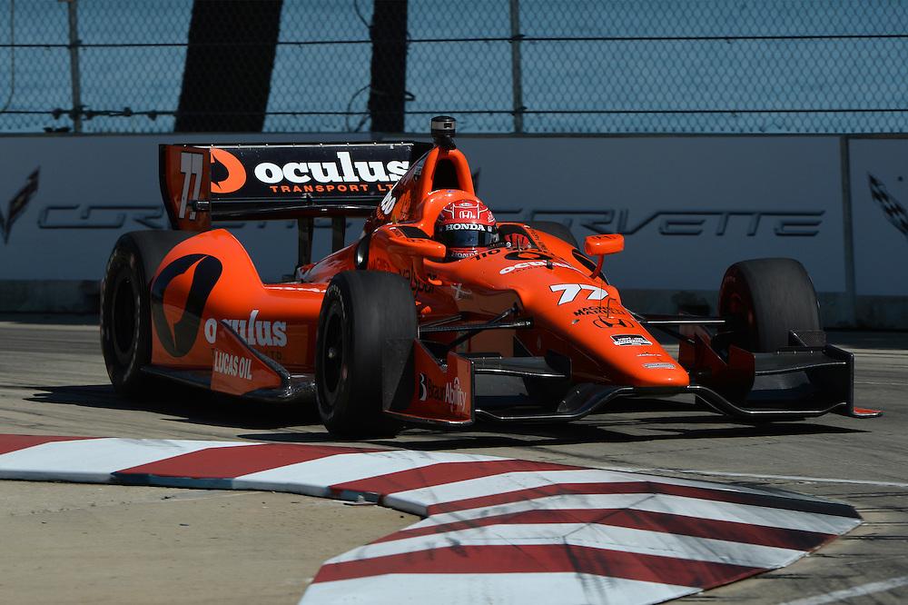 Simon Pagenaud, The Raceway at Belle Isle Park, Detroit, MI USA 6/1/2014